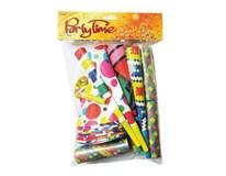 Párty set pre 10 osôb (čiapky,masky,balóny,trúbky,píšťalky)