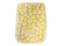 Zemiaky predvarené lúpané parené 25/40 chlad. 1x4 kg