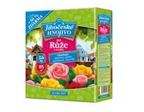 Hnojivo na ruže a trvalky Juhočeské 2kg + 30% navyše 1ks