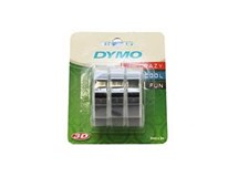 Páska čierna 3D 9mmx3m DYMO 3ks