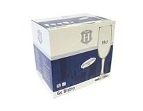 Pohár na šampanské Bistro 190ml H-Line 6ks