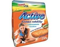 Bonavita Active krehké rohlíčky celozrnné 1x250 g