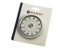 Kuchynská minútka analógová magnet priemer 8cm 1ks
