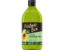 Nature box Avokádo sprchový gél 1x385 ml