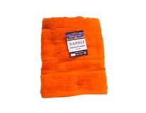 Osuška Napoli 70x140cm oranžová Dilios 1ks