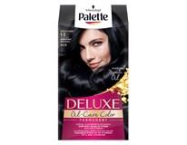 Palette Deluxe 909 modročierna farba na vlasy 1x1 ks