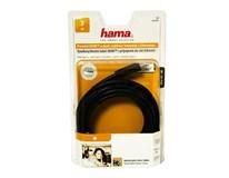 Kábel HDMI ethernet pozlátený 3* 3m HAMA 1ks