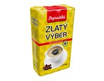 BOP Zlatý výber káva mletá 6x250 g