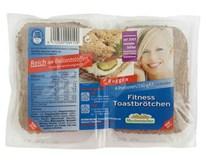 Žemle fitness toastové ražné 1x260 g