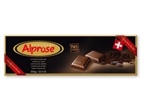 Alprose čokoláda horká 74% 1x300 g