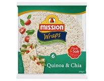 Mission Wraps Quinoa&chia chlad. (6ks) 1x370 g