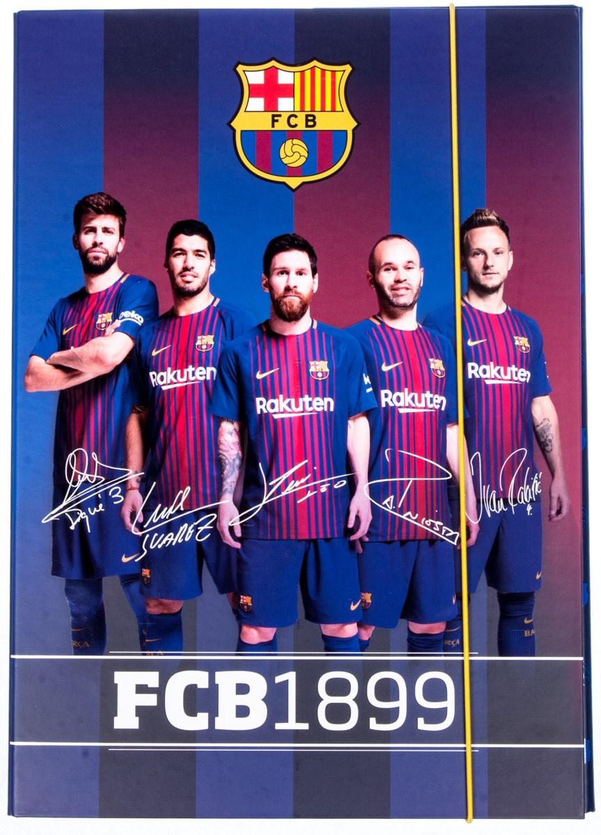 c115118204 Box na zošity A4 FC Barcelona 1ks - Školské potreby