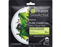 L´Oréal Tissue maska charcoal black 1x28 g