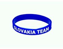 Silikónový náramok pre fanúšikov Slovakia Team 1ks