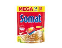 Somat Gold duopack lemon tablety do umývačky riadu 1x54 ks