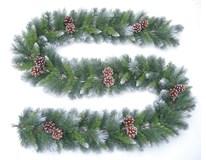 Vianočná dekorácia Girlanda šišky 270cm x 175 Tips Tarrington House 1ks