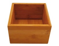 Box na potraviny Bamboo 15x15x9,5cm Tarringtom House 1ks