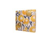 Obrúsky papierové Flowers 2-vrstvové 40cm Harmony 1x20 ks