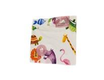 Obrúsky papierové Animals 3-vrstvové 30cm Harmony 1x20 ks