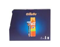 Gillette Kazeta Fusion ProGlide II. hol.strojček + gél na holenie+ taška 1x1 ks