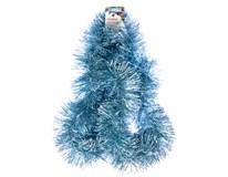 Vianočná reťaz 10cm/2m laser modrý 1ks
