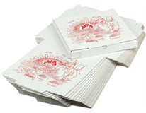 Krabice na pizzu 33x33x3cm ARO 50ks