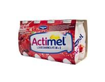Danone Actimel nápoj šípka, brusnica a čierna ríbezľa chlad. 8x100 ml