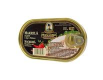 Franz Josef Filety makrela v oleji s Tabasco 1x170 g