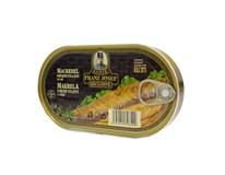 Franz Josef Filety makrela údená 1x170 g
