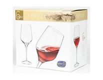 Pohár na víno Rebecca 460ml Bohemia Crystal 6ks