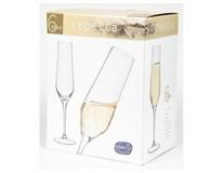 Flauta šampanské Rebecca 195ml 6ks