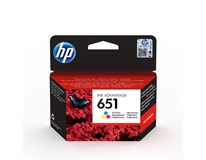 Cartridge 651 tri-color HP 1ks