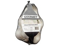 Cibuľa biela Gourmet 50+ čerstvá 1x500 g sieť