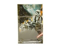 Obrus plastový Star Wars 120x180cm 1ks