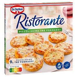 Dr.Oetker Ristorante Piccolissima pizza mini tri druhy syra mraz. 1x216 g