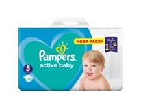 Pampers active baby S5 mega pack+ detské plienky 1x110 ks