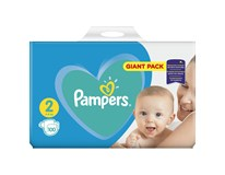 Pampers active baby S2 giant pack detské plienky 1x100 ks