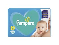 Pampers new baby S2 carry pack detské plienky 1x43 ks
