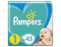 Pampers new born S1 detské plienky 1x43 ks