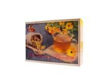 Agrokarpaty Drevená kazeta čajov 1x90 g