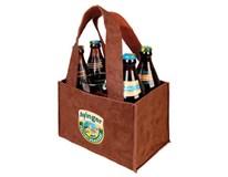 Ayinger pivo 4,9% 5x500 ml + pohár a kožená taška