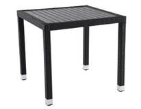 Stôl Barbados hliník, PS drevo 80x80x74cm Metro Professional 1ks