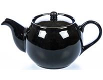 Kanvica porcelánová čajová 470ml čierna Sphere Tognana 1ks
