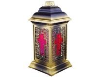 Lampa náhrobná vitráž 1ks
