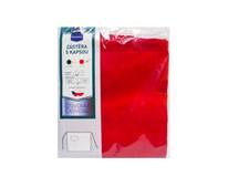 Zástera 3/4 červená s vreckom veľ.1 75x90cm Metro Professional 1ks