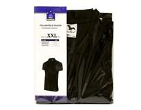 Polokošeľa unisex veľkosť XXL basic čierna Horeca Select 1ks