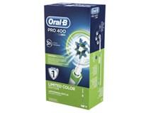 Oral-B Pro 400 elektrická zubná kefka zelená 1x1 ks