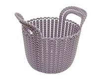 Kôš Knit guľatý fialový 3l Curver 1ks