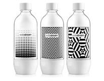 Sodastream fľaše black&white 1l 3ks
