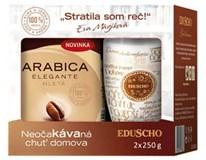 Eduscho Arabica Elegante káva mletá 2x250 g + hrnček
